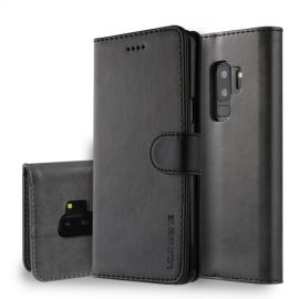 Luxe Book Case Samsung Galaxy S9 Plus Hoesje - Zwart
