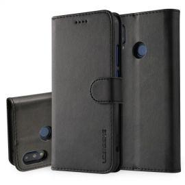 Luxe Book Case Huawei P20 Lite Hoesje - Zwart