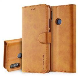 Luxe Book Case Huawei P20 Lite Hoesje - Bruin