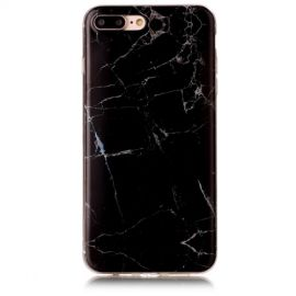 Marmer Design TPU iPhone 8 Plus / 7 Plus Hoesje