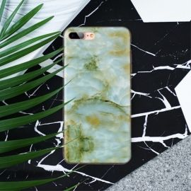Marmer Design TPU iPhone 8 Plus / 7 Plus Hoesje