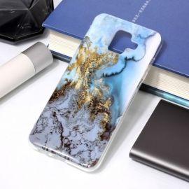 Marmer Design TPU Samsung Galaxy A6 (2018) Hoesje