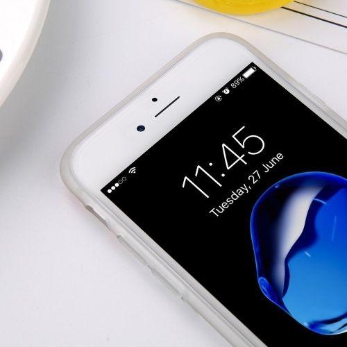Marmer Pineapple TPU iPhone 6 / 6s Hoesje