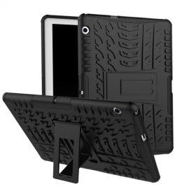 Rugged Kickstand Huawei MediaPad T3 10 Hoesje - Zwart