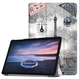 Smart Book Case Samsung Galaxy Tab S4 10.5 Hoesje - Eiffeltoren