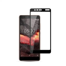 Full-Cover Tempered Glass Nokia 5.1 - Zwart