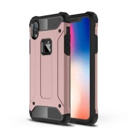 Armor Hybrid iPhone Xr Hoesje - Rose Gold