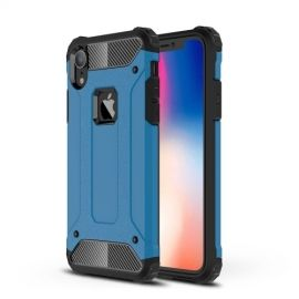 Armor Hybrid iPhone Xr Hoesje - Lichtblauw