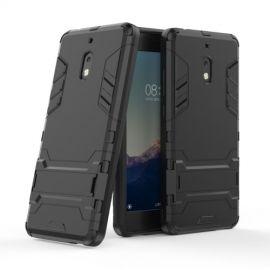 Armor Kickstand Nokia 2.1 Hoesje - Zwart