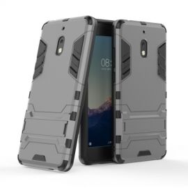 Armor Kickstand Nokia 2.1 Hoesje - Grijs