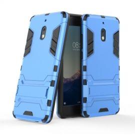 Armor Kickstand Nokia 2.1 Hoesje - Lichtblauw