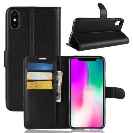 Book Case iPhone Xr Hoesje - Zwart