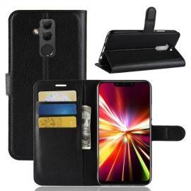 Book Case Huawei Mate 20 Lite Hoesje - Zwart