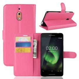Book Case Nokia 2.1 Hoesje - Roze