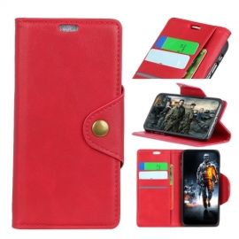 Luxe Book Case Nokia 2.1 Hoesje - Rood