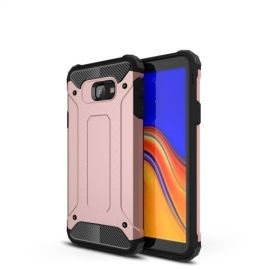 Armor Hybrid Samsung Galaxy J4 Plus Hoesje - Rose Gold