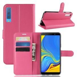 Book Case Samsung Galaxy A7 (2018) Hoesje - Roze