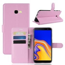 Book Case Samsung Galaxy J4 Plus Hoesje - Pink