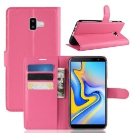 Book Case Samsung Galaxy J6 Plus Hoesje - Roze