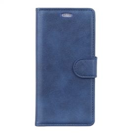 Luxe Book Case Samsung Galaxy A7 (2018) Hoesje - Blauw