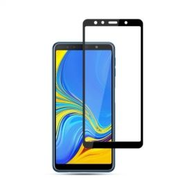 Full-Cover Tempered Glass Samsung Galaxy A7 (2018) - Zwart