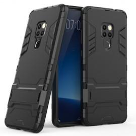 Armor Hybrid Kickstand Huawei Mate 20 Hoesje - Zwart