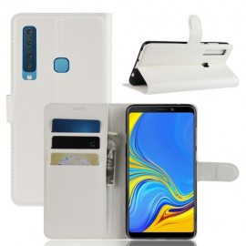 Book Case Samsung Galaxy A9 (2018) Hoesje - Wit