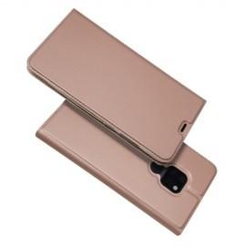 Folio Book Case Huawei Mate 20 Hoesje - Rose Gold