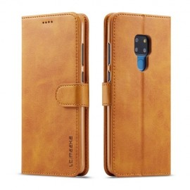 Luxe Book Case Huawei Mate 20 Hoesje - Bruin