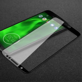 Full Cover Tempered Glass Motorola Moto G6 - Zwart