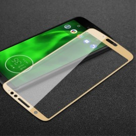 Full Cover Tempered Glass Motorola Moto G6 - Goud
