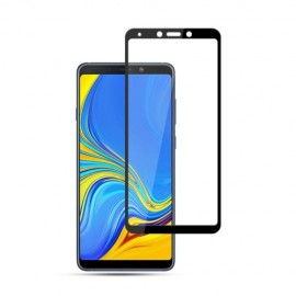 Full Cover Tempered Glass Samsung Galaxy A9 (2018) - Zwart