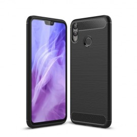 Armor Brushed TPU Honor 8X Hoesje - Zwart