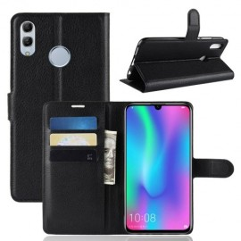 Book Case Huawei P Smart 2019 / Honor 10 Lite Hoesje - Zwart