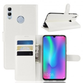 Book Case Huawei P Smart 2019 / Honor 10 Lite Hoesje - Wit