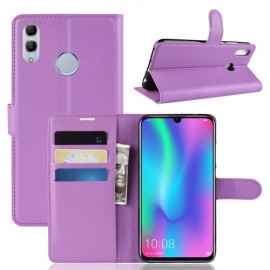 Book Case Huawei P Smart 2019 / Honor 10 Lite Hoesje - Paars