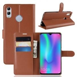 Book Case Huawei P Smart 2019 / Honor 10 Lite Hoesje - Bruin