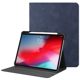 Luxe Book Case Apple iPad Pro 11 (2018) Hoesje - Blauw