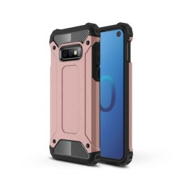 Armor Hybrid Samsung Galaxy S10e Hoesje - Rose Gold