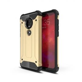 Armor Hybrid Motorola Moto G7 / G7 Plus Hoesje - Goud