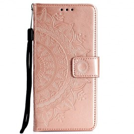 Bloemen Book Case Huawei P Smart 2019 / Honor 10 Lite Hoesje - Rose Gold