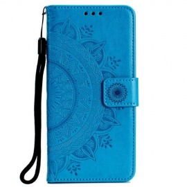 Bloemen Book Case Huawei P Smart 2019 / Honor 10 Lite Hoesje - Blauw