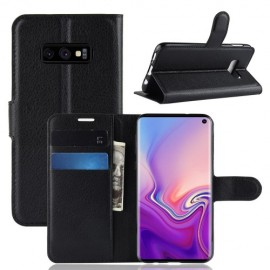 Book Case Samsung Galaxy S10e Hoesje - Zwart