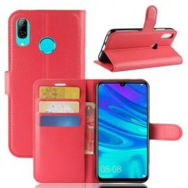 Book Case Huawei P30 Lite Hoesje - Rood