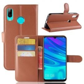 Book Case Huawei P30 Lite Hoesje - Bruin