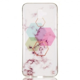 Marmer Design TPU Samsung Galaxy J6 Plus Hoesje