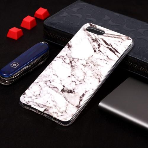 Marmer Design TPU Huawei Y5 (2018) / Honor 7s Hoesje