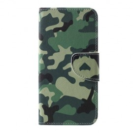 Book Case Samsung Galaxy S10 Plus Hoesje - Camouflage