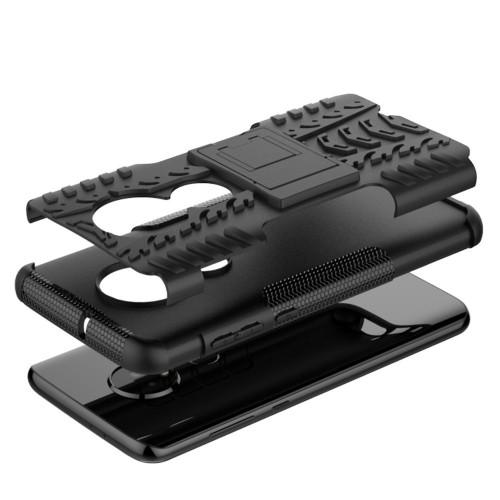 Rugged Kickstand Motorola Moto G7 / G7 Plus Hoesje - Zwart