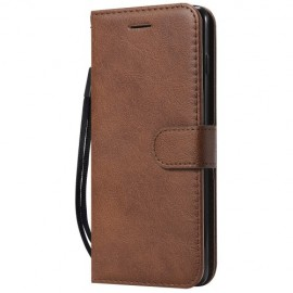 Shiny Book Case Samsung Galaxy S10 Hoesje - Bruin